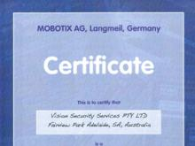 Mobotix Registered Partner 2012