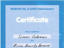 Mobotix Training- Simon Coleman