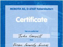 Mobotix Training- John Convill