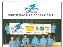 St Mark's Lutheran School Appreciation