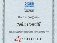 Protege Training- John Convill