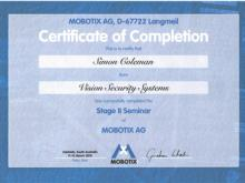 Mobotix Advanced Training- Simon Coleman